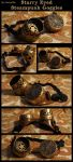 Starry Eyed Steampunk Goggles by CaelynTek