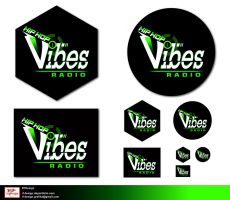 b- Vibes logo presentation 10 by R1Design