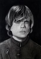 Tyrion in Charcoal _ Tyrion em grafite e carvao by pribellafronte