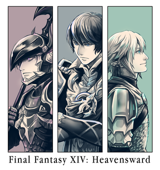 FinalFantasy XIV : Heavensward by Mushstone