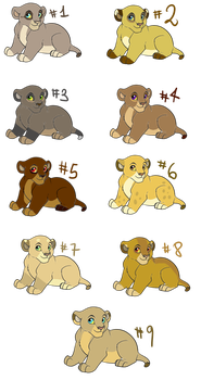 leonas points adoptables  9/9 OPEN by lupalapa