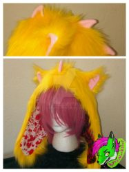 Fluff Dragon Fur Hat by KyosWorkShop