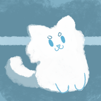 Cloudkit: Fuzzy Puff by Timuscabus