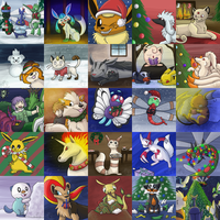 Christmas Pokemon!
