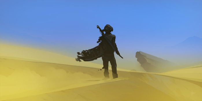 Desert walker by Weilard