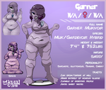 OC Reference - Garner the Mukivoir (Pokemon OC) by ImaDeeJ