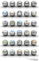 High-Res HDRI Map Pack 3 by smashmethod