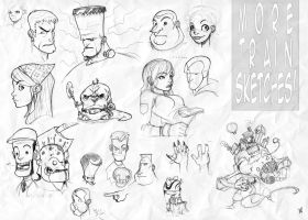 Train Sketches: The New Batch by Zatransis