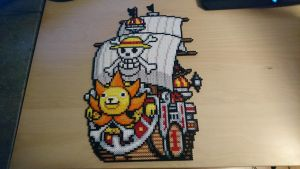 One Piece Picture #11. Thousand Sunny (redone) by MagicPearls