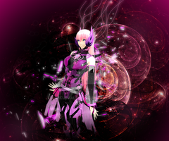 MMD Picture: Pink Galaxy by dianita98