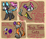Touch Tablet Cats - Open Species by ThisAccountIsDead462