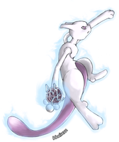 Mewtwo ver5 by whonghaiw