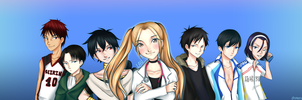 Doctor Lau and her husbandos by ueruchan77
