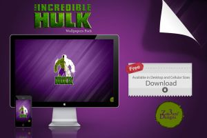 The Incredible Hulk / Dr.Bruce Banner by Zat3am