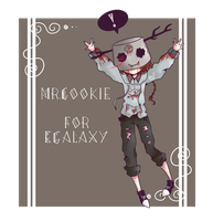 Mr.Cookie(Creepypasta OC) for EGalaxy by Theprince1224