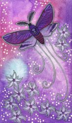 Violet Series - 06. Moth by Ravenari