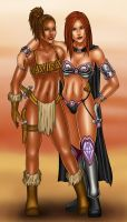 Fantasy Kayla and Taryn by gwproject