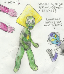 Inflatable Peridot by Yoshiegg603