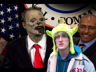 Zombie Reagan with Running Mate Logan Paul 2024 by 2naMretsiMehT