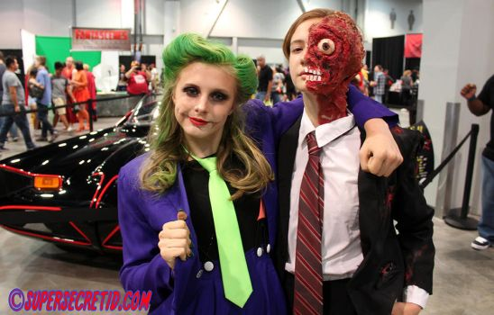 Joker and 2 Face Amaz LVCC by norrit07