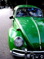 green volkswagen by swimsam91