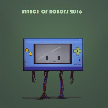 March of robots! by cgartMan5ON