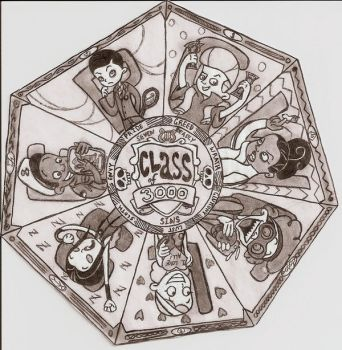 The Seven Deadly Sins by janiceghosthunter