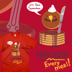 Pancakes for Every Meal! by Marzipanapple