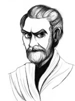 Obi-Wan Kenobi by Annieartworld