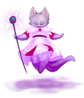 White Mage Rinh by RErrede