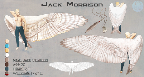 Comish: Jack Morrison Wing!AU [Jekyde412] by Blue-Hearts
