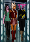 Trio. by Chyche
