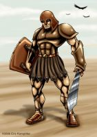 Mighty Achilles by EricKemphfer