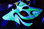 Kitsune black light by SilverCicada