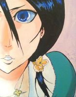 Rukia Kuchiki Painting by KnifexGirl