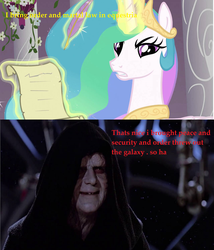 palpatine owns celestia by irishwolf8504