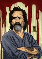 Charles Manson - Artwork3 by The-Real-NComics