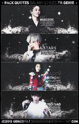 [PSD GIVEAWAY] ~Romantic Universe~ by GenieDyo