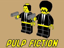 Pulp Fiction Lego by SmashRS