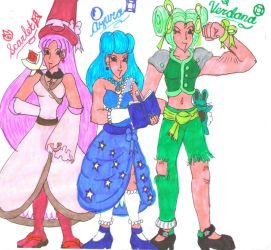 Witch Trio for DBCDude01 by Winter-Colorful