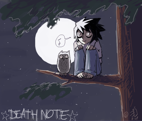 L in the night by emlan