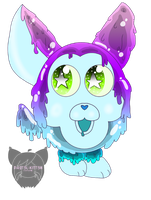Limited edition Slime Tattletail by P4ST3L-KITT3N