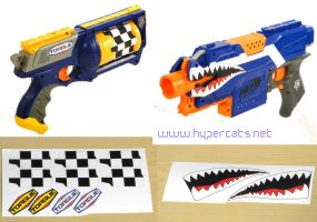 Nerf Borderlands 2 Decals by Hypercats