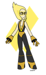 Commission- Yellow Jade by popinat