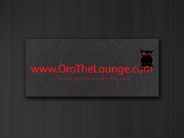 Oro Lounge Business Card IIb by Javagreeen