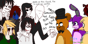 Differents fandoms, same problems by cami-cami123