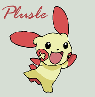 Plusle by Roky320
