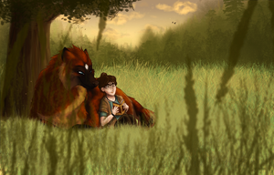 .: Peaceful :. + Speedpainting Video by mimmiley