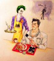 Batcakes for Batsy!Colored by lovejoker4ever