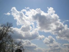 Clouds 1 by floatingtrem-stock